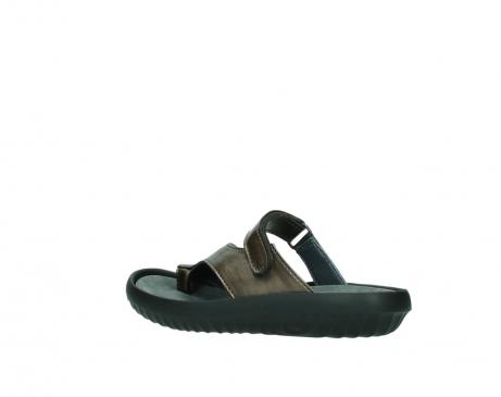wolky slippers 0881 fiji 933 koper metallic leer_3
