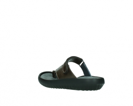 wolky slippers 0881 fiji 933 koper metallic leer_4