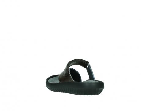 wolky slippers 0881 fiji 933 koper metallic leer_5