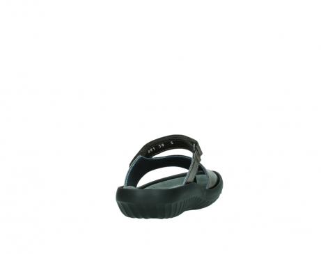 wolky slippers 0881 fiji 933 koper metallic leer_8
