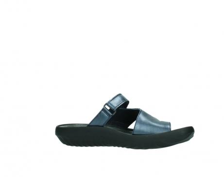 wolky pantoletten 0881 fiji 980 blau metallic leder_14
