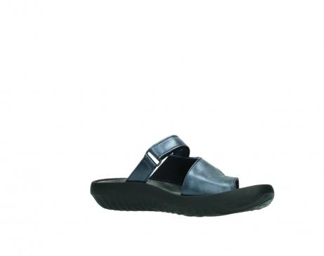 wolky pantoletten 0881 fiji 980 blau metallic leder_15