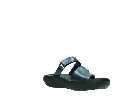 wolky pantoletten 0881 fiji 980 blau metallic leder_16