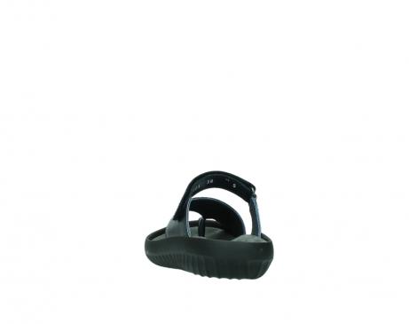 wolky pantoletten 0881 fiji 980 blau metallic leder_6