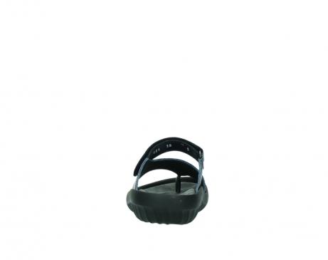 wolky pantoletten 0881 fiji 980 blau metallic leder_7