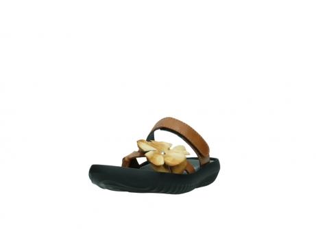 wolky pantoletten 0883 tahiti flower 243 cognac leder_21