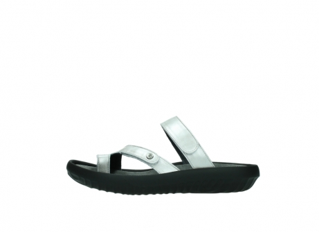 wolky slippers 0884 bali 919 parelwit metallic leer_1