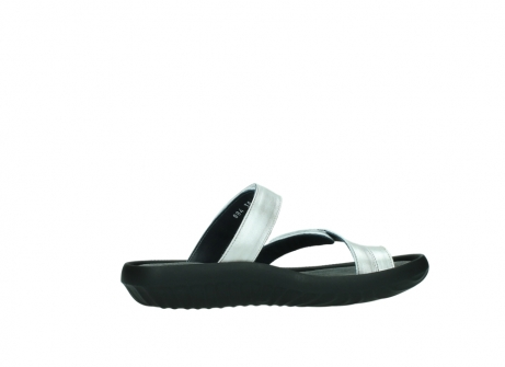 wolky slippers 0884 bali 919 parelwit metallic leer_12