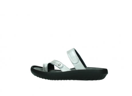 wolky slippers 0884 bali 919 parelwit metallic leer_2