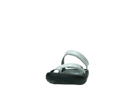 wolky slippers 0884 bali 919 parelwit metallic leer_20