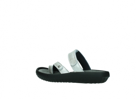 wolky slippers 0884 bali 919 parelwit metallic leer_3