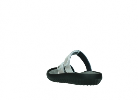wolky slippers 0884 bali 919 parelwit metallic leer_5