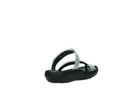 wolky slippers 0884 bali 919 parelwit metallic leer_9