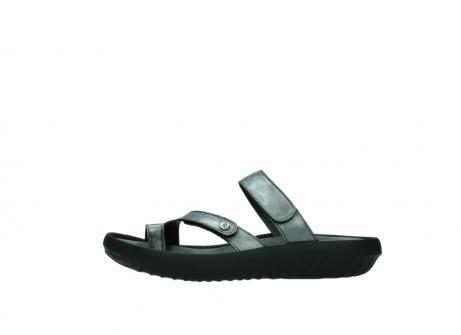 wolky slippers 0884 bali 928 grijs metallic leer_1