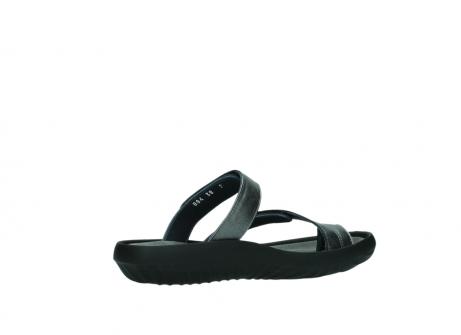 wolky slippers 0884 bali 928 grijs metallic leer_11