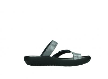 wolky slippers 0884 bali 928 grijs metallic leer_13