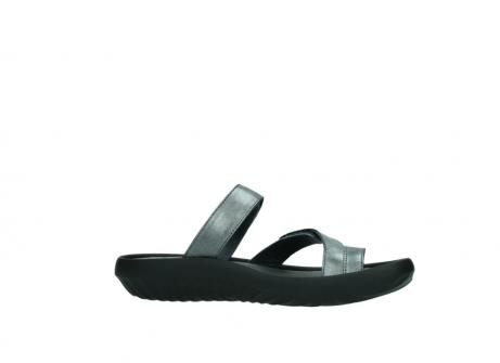 wolky slippers 0884 bali 928 grijs metallic leer_14