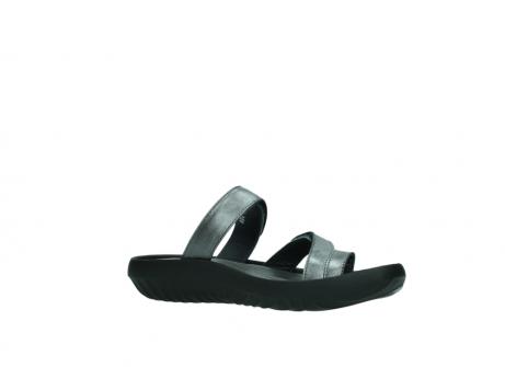wolky slippers 0884 bali 928 grijs metallic leer_15