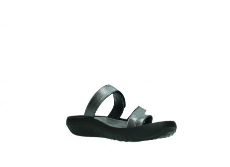 wolky slippers 0884 bali 928 grijs metallic leer_16