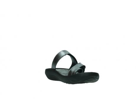 wolky slippers 0884 bali 928 grijs metallic leer_17