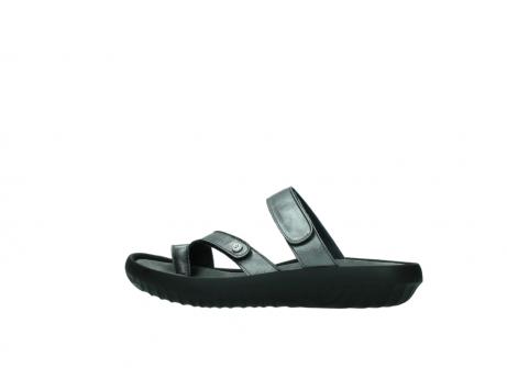 wolky slippers 0884 bali 928 grijs metallic leer_2