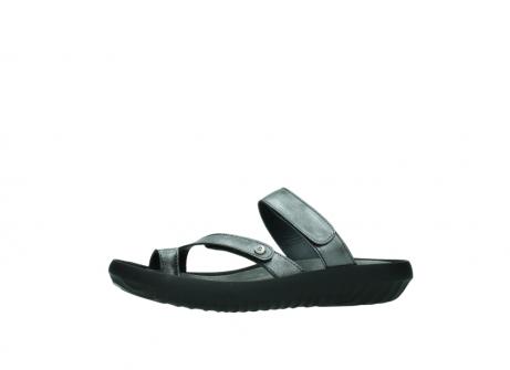 wolky slippers 0884 bali 928 grijs metallic leer_24