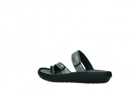 wolky slippers 0884 bali 928 grijs metallic leer_3