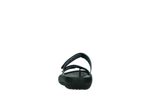 wolky slippers 0884 bali 928 grijs metallic leer_7