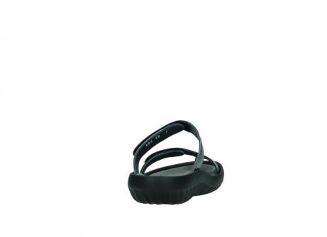 wolky slippers 0884 bali 928 grijs metallic leer_8