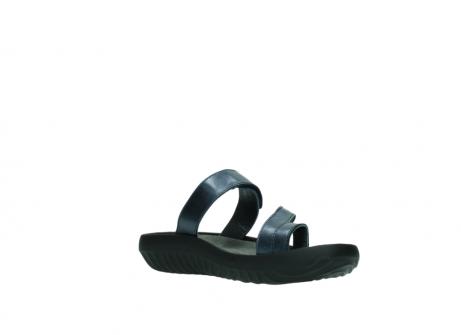 wolky pantoletten 0884 bali 980 blau metallic leder_16
