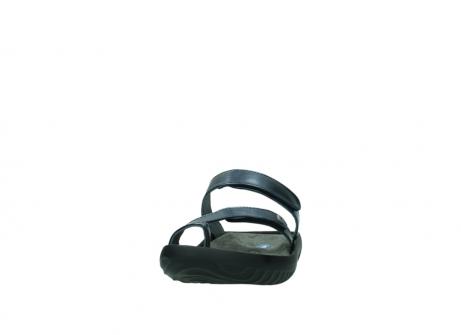 wolky pantoletten 0884 bali 980 blau metallic leder_20