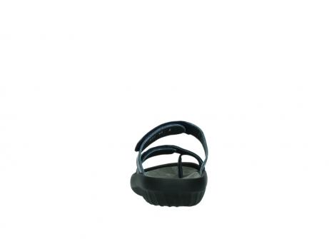 wolky pantoletten 0884 bali 980 blau metallic leder_7