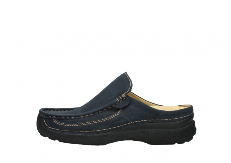 wolky heren slippers 09210 roll slide men 11800 blue_1