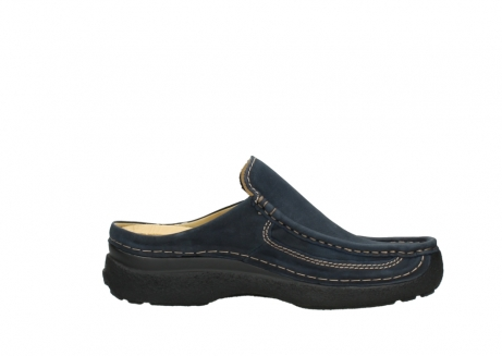 wolky heren slippers 09210 roll slide men 11800 blue_13