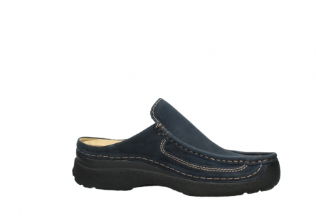 wolky heren slippers 09210 roll slide men 11800 blue_14