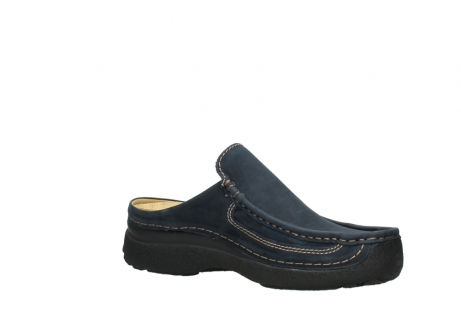 wolky heren slippers 09210 roll slide men 11800 blue_15