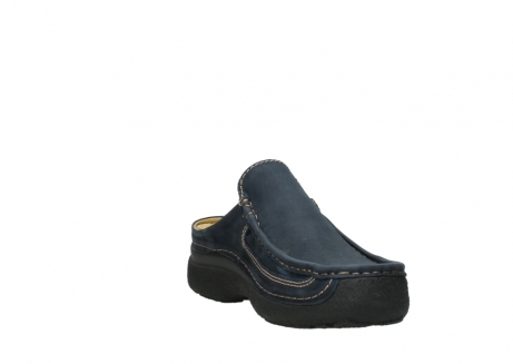 wolky heren slippers 09210 roll slide men 11800 blue_17