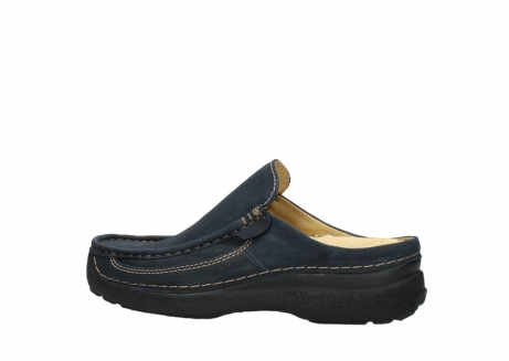 wolky heren slippers 09210 roll slide men 11800 blue_2