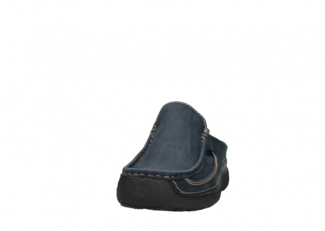 wolky heren slippers 09210 roll slide men 11800 blue_20