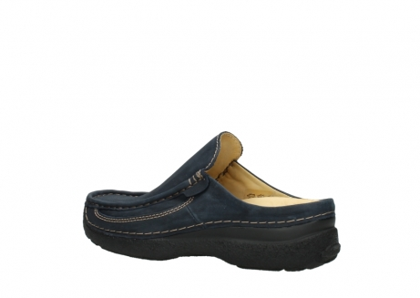 wolky heren slippers 09210 roll slide men 11800 blue_3