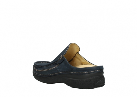 wolky heren slippers 09210 roll slide men 11800 blue_4
