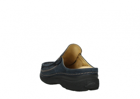 wolky heren slippers 09210 roll slide men 11800 blue_5