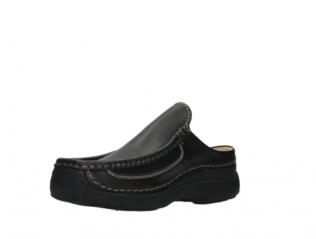 wolky slippers 09210 roll slide men 50000 zwart leer_10