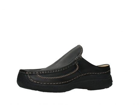 wolky slippers 09210 roll slide men 50000 zwart leer_11