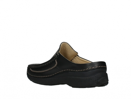 wolky slippers 09210 roll slide men 50000 zwart leer_16