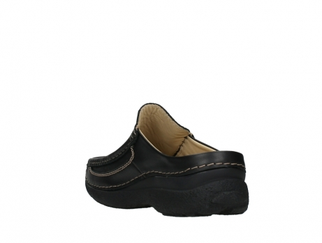 wolky slippers 09210 roll slide men 50000 zwart leer_17