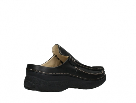 wolky slippers 09210 roll slide men 50000 zwart leer_22
