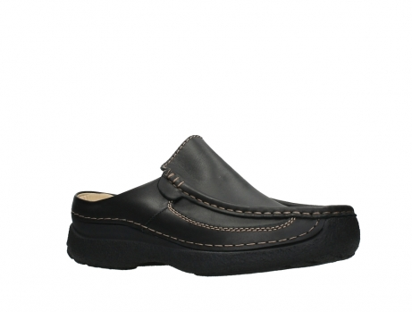 wolky slippers 09210 roll slide men 50000 zwart leer_3