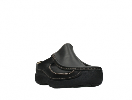 wolky slippers 09210 roll slide men 50000 zwart leer_5