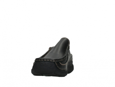 wolky slippers 09210 roll slide men 50000 zwart leer_8